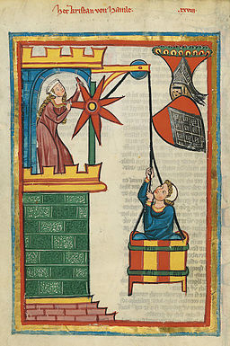 Codex Manesse 071v Kristan von Hamle