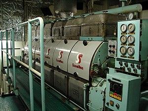English: Disel Generator B&W of 1150 kW on the...