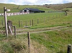 Weg in der Nähe von Llyn Clywedog