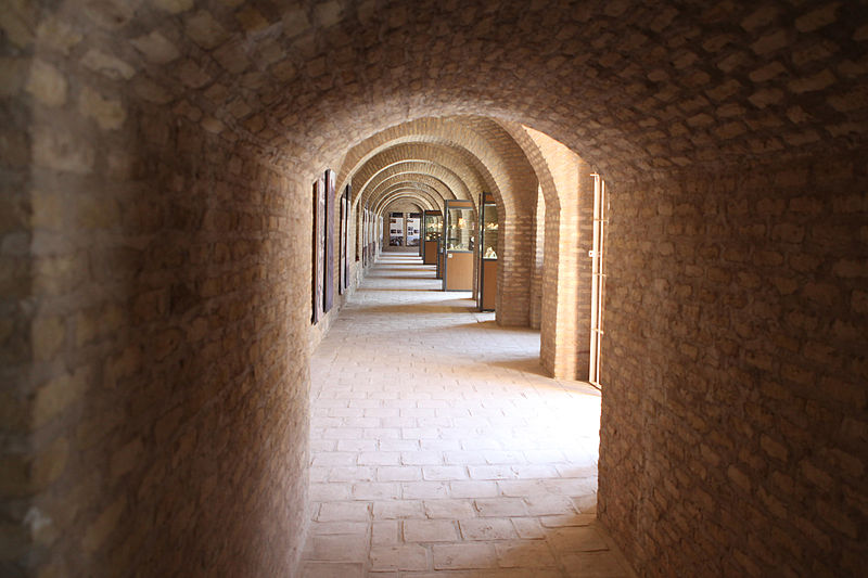 File:Inside the Museum of Herat in 2011.jpg