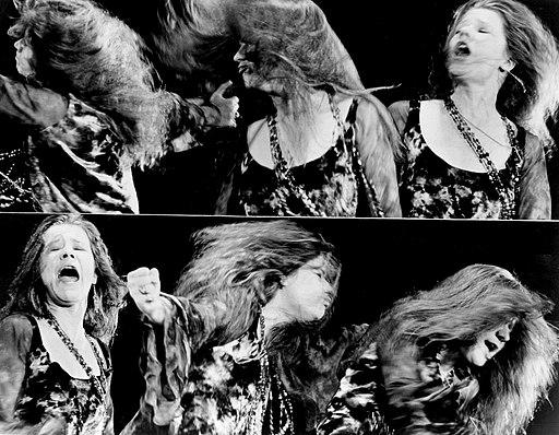 Janis Joplin performing montage 1969