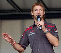 Jenson Button in 2007.