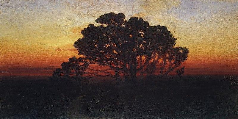 Kuindzhi Evening 1885 1890