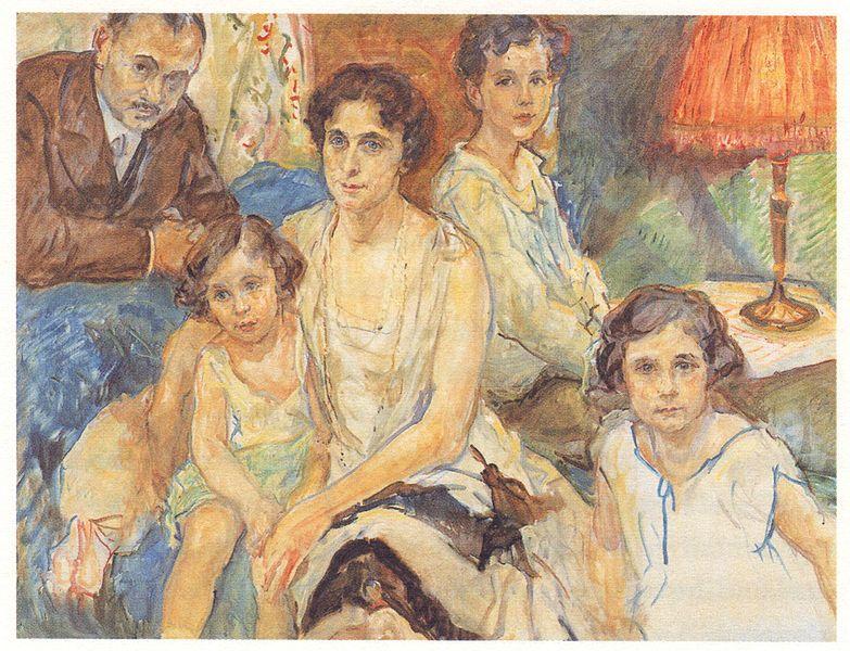 File:Max Slevogt - Die Familie des Arztes János Plesch.jpg