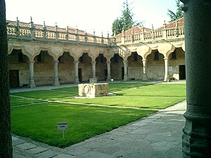 English: Patio de Escuelas, University of Sala...