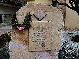 Català: Pedra dels Maules de Xàtiva, País Vale...