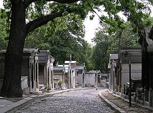 Chemin Errazu of cementery Père Lachaise