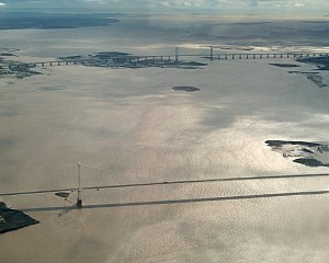 The Second Severn Crossing to the top of the i...