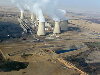 Arnot Power Station, Middelburg, South Africa