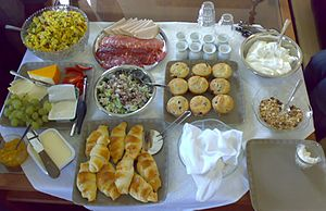 English: Sveas restaurant brunch