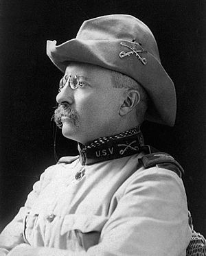 Portrait photo of Theodore Roosevelt, 1898 tak...