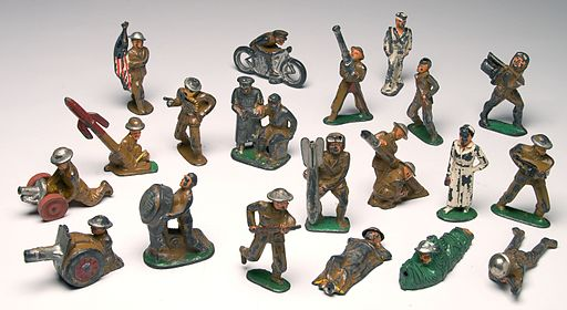 World War I Era Toy Soldiers