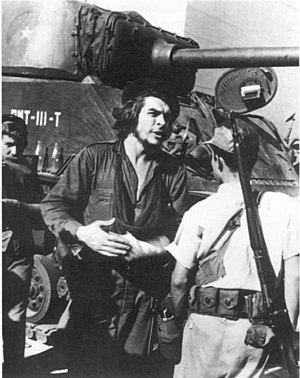 Ernesto Guevara en Santa Clara. Diciembre 1958
