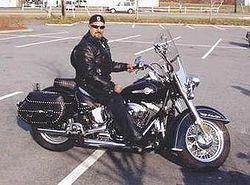 Motocicleta Harley Davidson Heritage, modelo 2004