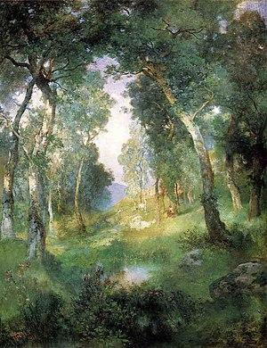 Julius LeBlanc Stewart - Forest Glade, Santa B...