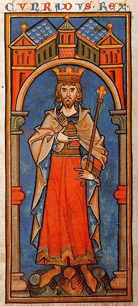 File:Konrad III Miniatur 13 Jahrhundert.jpg