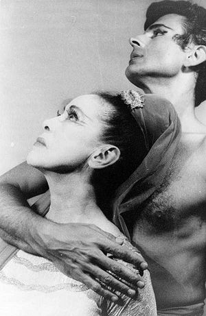 Portrait of Martha Graham and Bertram Ross (19...