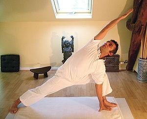 Yoga postures Parshvakonasana