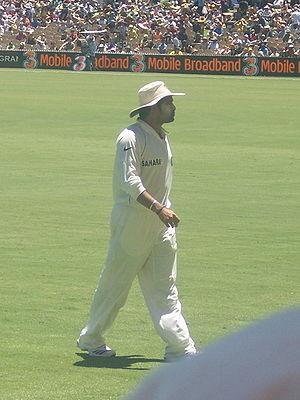 Sachin Tendulkar, Indian cricketer. 4 Test ser...