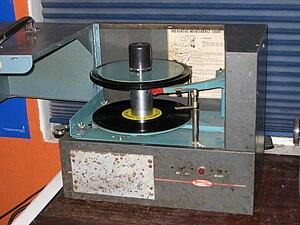 English: Seeburg 1000 Background Music System ...