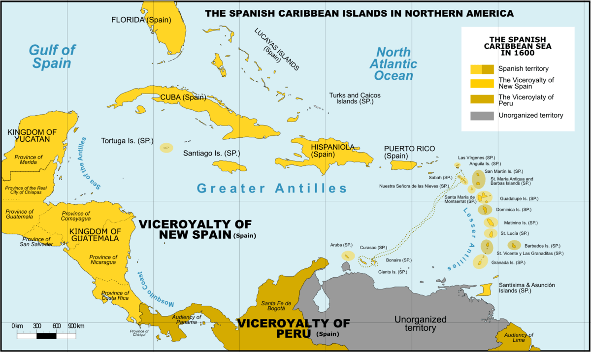 2 Islands Located Countries America North