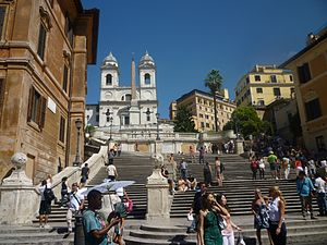 English: Spanish Steps, Piazza di Spagna, Rome...
