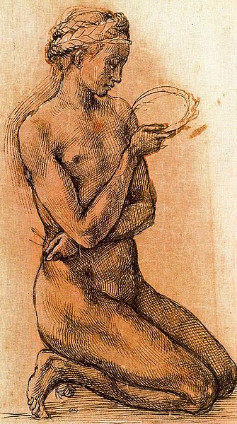 File:Study of a Kneeling Nude Girl for The Entombment.jpg
