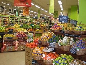 Supermarket in São Paulo