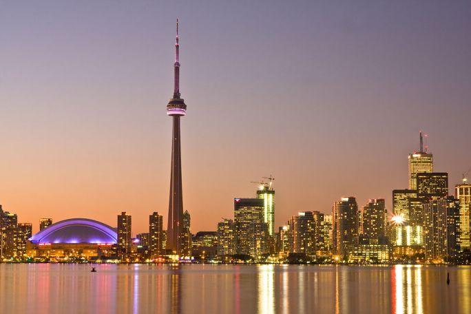 Toronto at Dusk -a