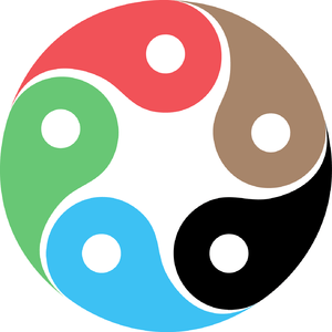 Zentao symbol as evolution of the Tao (Yin Yan...