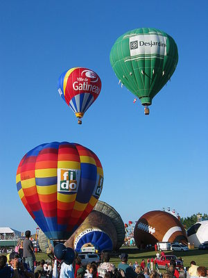 Balloons at the Gatineau Hot Air Balloon Festival