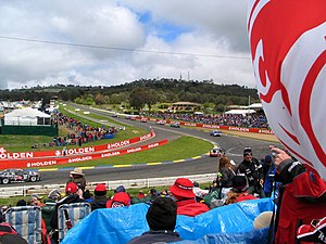 The Bathurst 1000, held at Mount Panorama Circ...