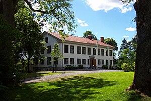 English: An exterior photo of the Björkborn ma...