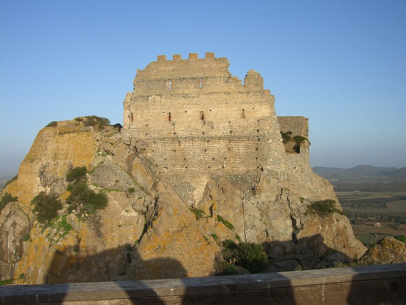 Castelos e fortalezas abertos para visitação na Itália: Castelo de Acquafredda, Sardenha.