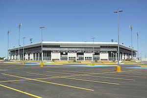 Ciudad Deportiva Entrance in Nuevo Laredo