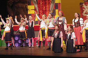 English: Performance of Hansel and Gretel 2007 DOT
