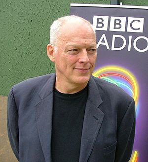 David Gilmour at Live 8. Cropped version of Im...