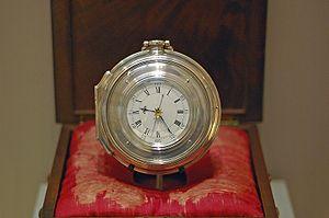 John Harrison's famous chronometer