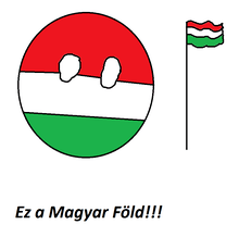 Hungary Countryball Royalty Free Cliparts Vectors And Stock