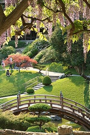 The Japanese Garden in Spring.