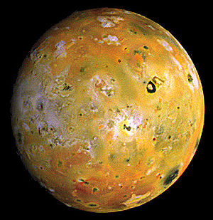 Image of Io taken by the Galileo spacecraft