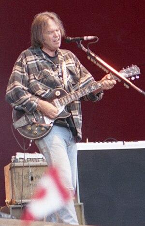 English: Neil Young in Ruisrock Festival, Turk...