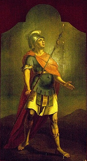 Roman soldier from a Calvary