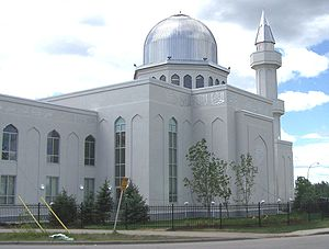 The Baitunnur mosque of the Ahmadiyya Muslim C...