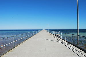 English: Jetty at Ardrossan, South Australia