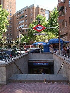 Estacin De Alfonso XIII Wikipedia La Enciclopedia Libre