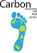 English: The carbon footprint.