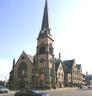 Central United Methodist Church in Detroit, Mi...