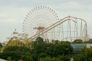 the Ferris wheel of Expoland