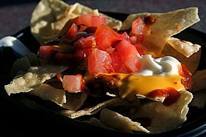 English: Nachos as served by Taco Bell. Photog...